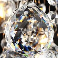 1 pc Suncatcher Crystal Healing Pendulum Lamp Prisms Hanging Big Ball Rainbows 80mm