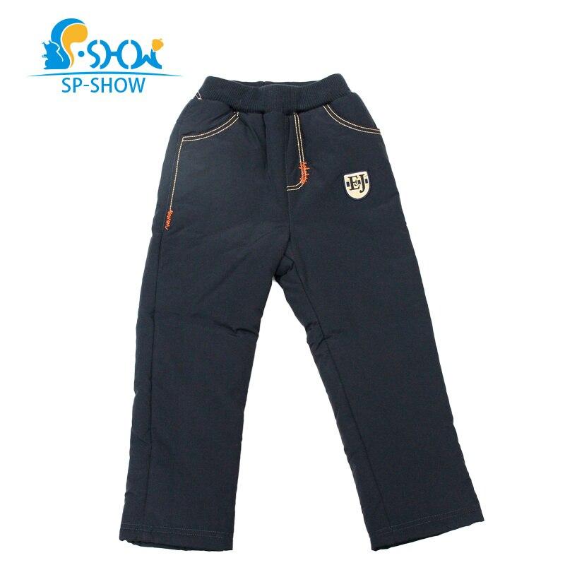 Hiver chaud enfants bas pantalon pour garçons et filles remplissage 90% blanc canard bas pantalon enfants hiver pantalon pour 2-8 âge 62517