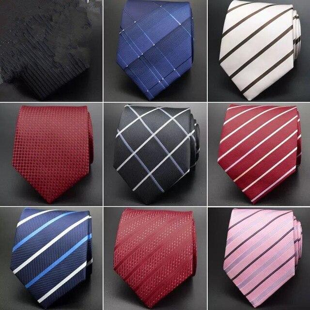 20 стиль деловых свадьба Классический мужчины рулевой полосы сетки 8 см Шелк corbatas Модные Аксессуары мужчины галстук ld-17