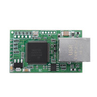 TTL to RJ45 Network Prt 232 to TCP USR TCP232 E2 Dual Serial Port to Ethernet Module Integrated Circuits