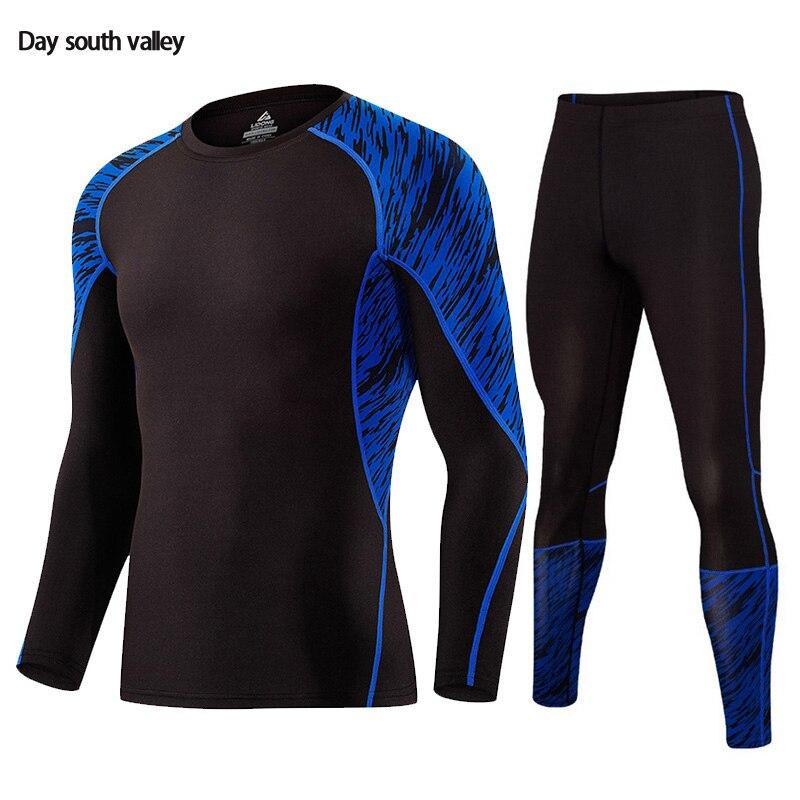 2018 Union Anzug Kleidung Für Männer Crossfit Fitnessmen Langarm Thermische Strickwaren Thermische Unterwäsche Für Männer