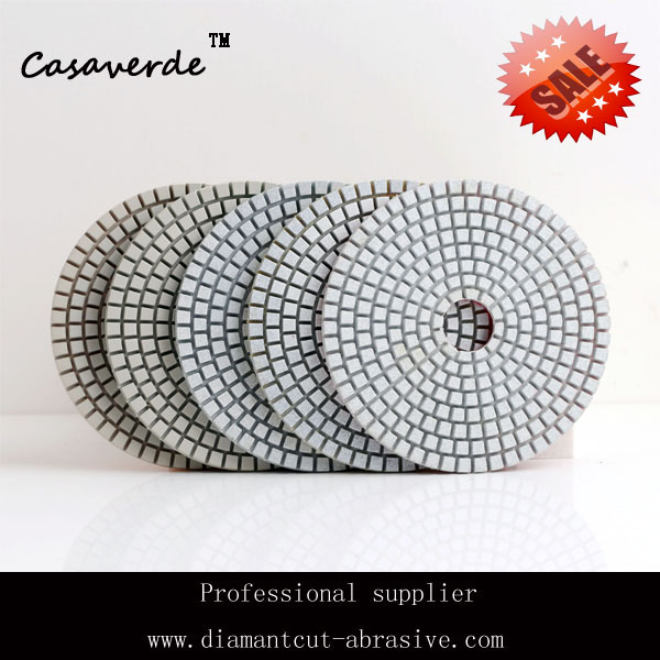 Free shipping premium quality D100mm 4inch engineered stone polishing pads for wet polishing free shipping quality assure 100