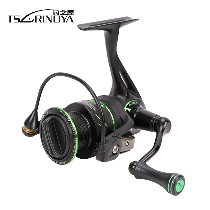 TSURINOYA FLYING SHARK 2000/3000 Spinning Fishing Reel 12BB/6.2:1 Drag 8Kg Metal Spool Saltwater Freshwater Reels Peche Molinete цена в Москве и Питере