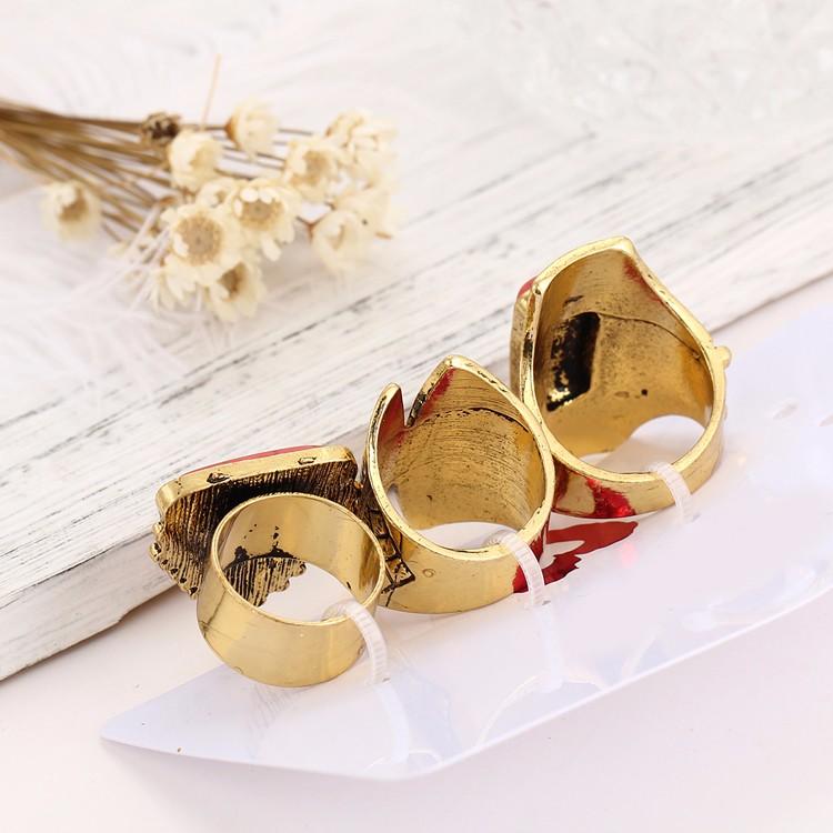HTB1tjm_MVXXXXaPXVXXq6xXFXXXl Boho Style 3-Pieces Vintage Punk Knuckle Ring Set For Women - 2 Colors