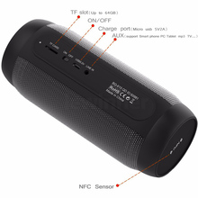 Waterproof LED Portable Column Bluetooth Speakers Soundbar Shockproof Subwoofer Stereo Loudspeaker HandsFree Aux For xiomi