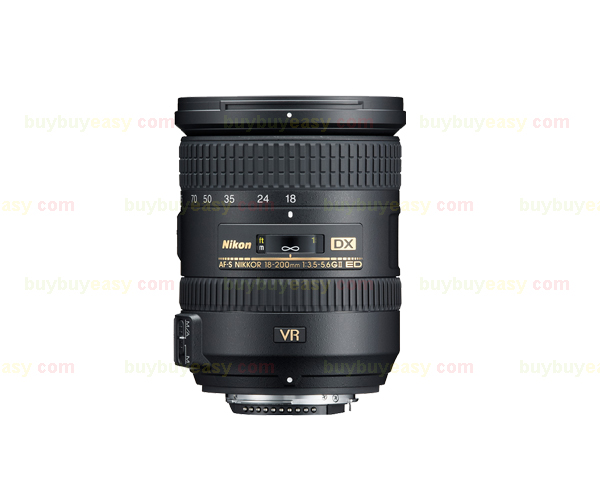 New <font><b>Nikon</b></font> Nikkor AF-S <font><b>18</b></font>-<font><b>200mm</b></font> f/3.5-5.6 DX G ED VR II Lens - White Box image