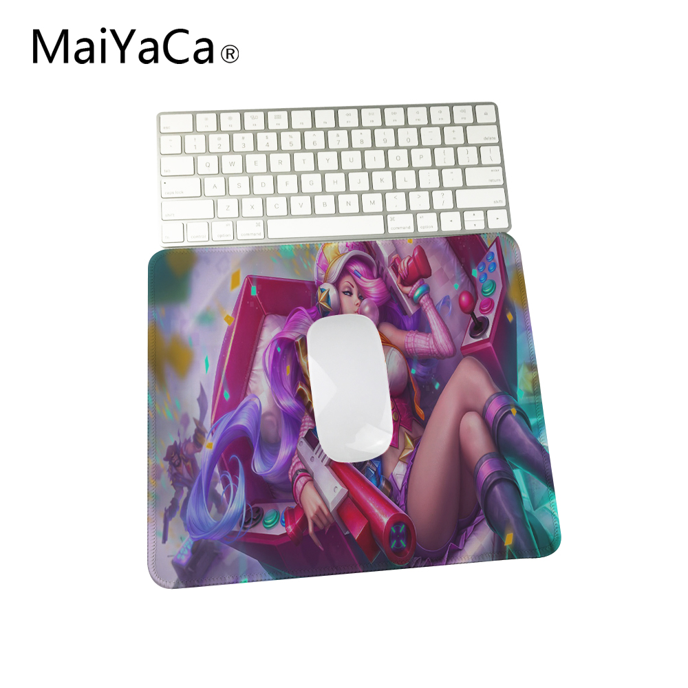 Mouse Pads Computer Peripherals Maiyaca Miss Fortune With Red Hair And A Hat League Of Legends Mouse Pad Computer Gaming Mouse Pad Gamer Play Mats High Quality Goods