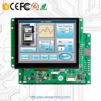 3.5'' Stone Tft Ype Lcd Module With Hd Colourful Touch Screen & Rs232 Port To Any Mcu By Comand Sets