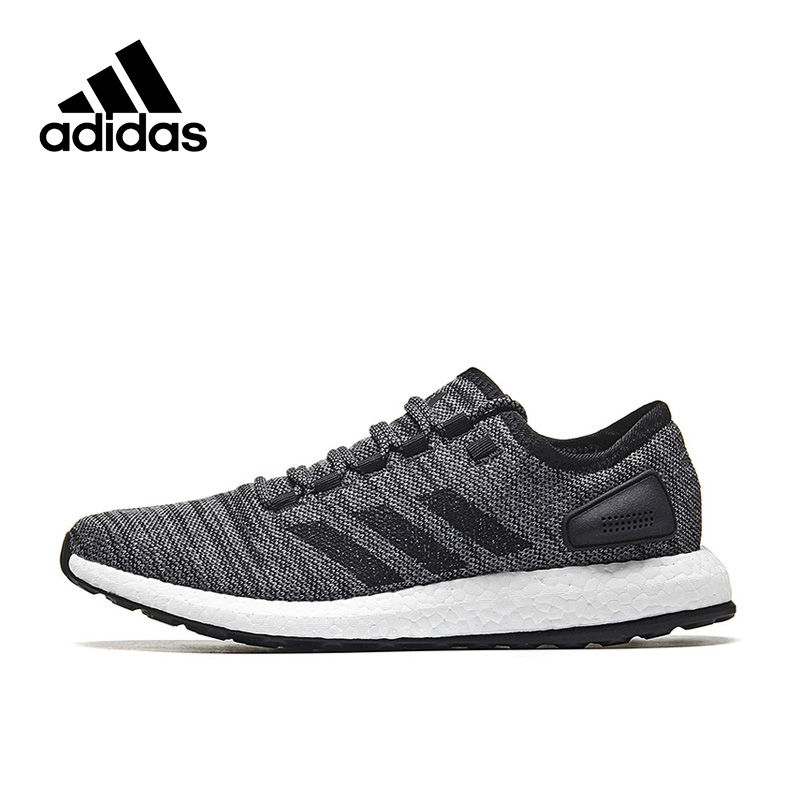 29240247aa042 New Arrival Authentic Adidas PureBOOST All Terrain Men s Running Shoes  Sports Sneakers