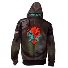 Cyberpunk Cosplay Costume Cyberpunk Jacket Men's Hoodie Coat