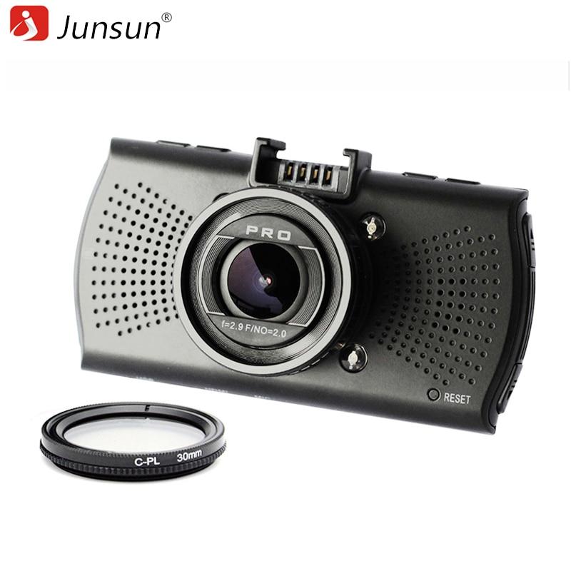 Junsun Ambarella A12 font b Car b font DVR Camera FHD 2560 1440P font b GPS