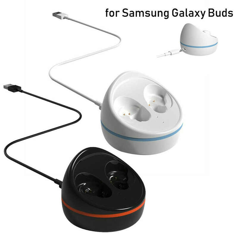 2019 Newest FAST Charging Case Replacement Charger Case Dock Cradle for Samsung Galaxy Buds Bluetooth Wireless Earbuds