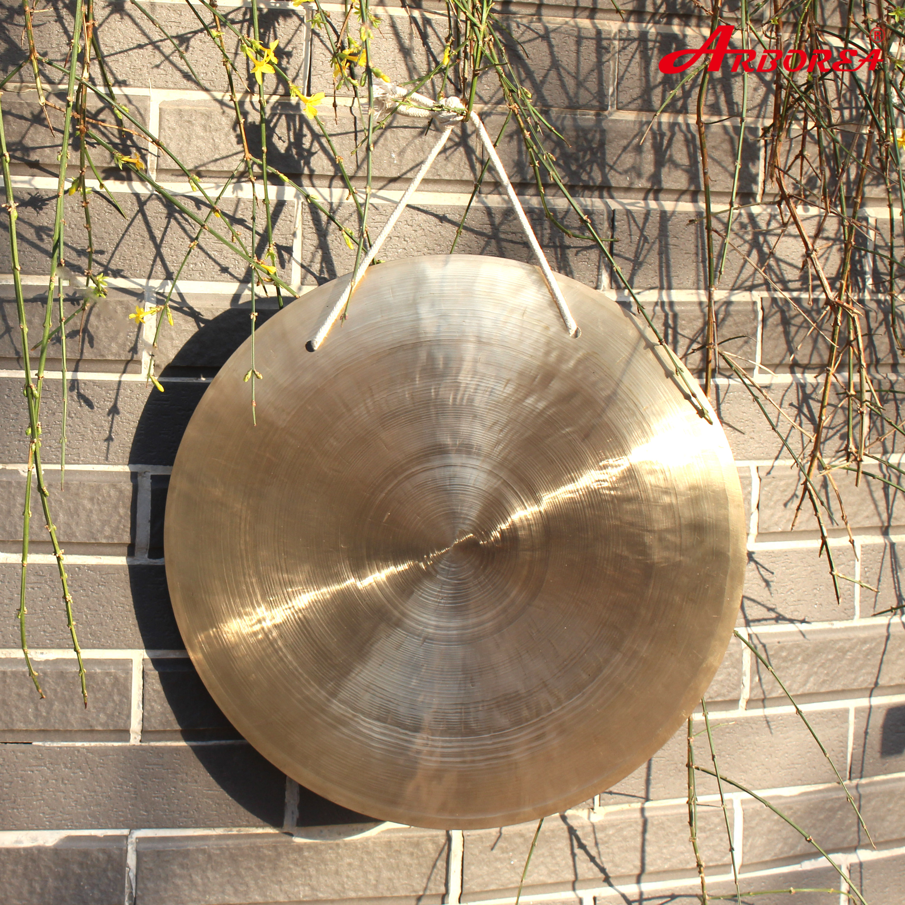 100 handmade percussion musical instruments traditional Chinese 14 wind gong MM with a free mallet without