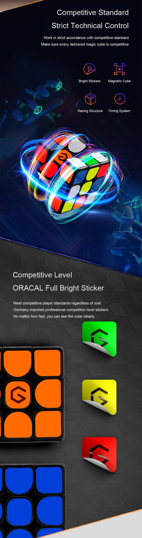 [Update Version ] Original Xiaomi Mijia Giiker i3s AI Intelligent Super Cube Smart Magic Magnetic Bluetooth APP Sync Puzzle Toys (11)