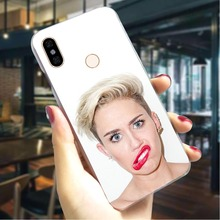 Miley Cyrus Hard Cover for Redmi 5A Ultra Thin Phone Case Xiaomi Note6 Note7 Note Prime S2 3 Pro Cases Skin