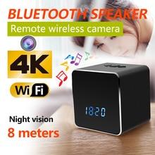 Bluetooth Speaker Micro Camera Wifi HD 1080P Vedio Recorder Wireless Stereo Speaker Cam Rotation 180 Motion Detection Camera