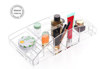 Ms Favorite Desktop Cosmetics Crystal Storage Box Transparent Plastic Box Cosmetic Box The Model Of Large
