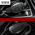 Car Styling New Genuine Carbon Fiber Car Auto Remote Key Cover fob Holder Skin Case Shell for Mercedes Benz A/B/C/E/G/S Class