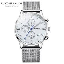 цена на clock men hodinky brand luxury relojes para hombre marca de lujo orologio uomo lusso casual chronograph watches relogios wrist