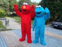 Nhà máy bán hàng trực tiếp chất lượng cao Dài Lông Elmo Mascot Costume Character Costume Cartoon Costume Elmo Cosplay Miễn Phí Vận Chuyển