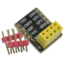 Breadboard Adapter for ESP-01 Model of the ESP8266 Serial To WiFi Transceiver Module Breakout UART Module(China (Mainland))