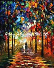 palette knife oil painting  modern oil painting canvas oil painting  K231