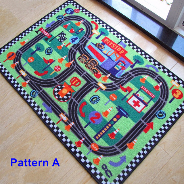 High Quality Car Racing Circuit Urban Road Traffic Baby