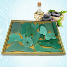 цены на (Gift chart + bag) WholesaleTraditional Acupuncture Massage Tool Guasha Board Natural Stone 2pieces/lot (fish shape)  в интернет-магазинах