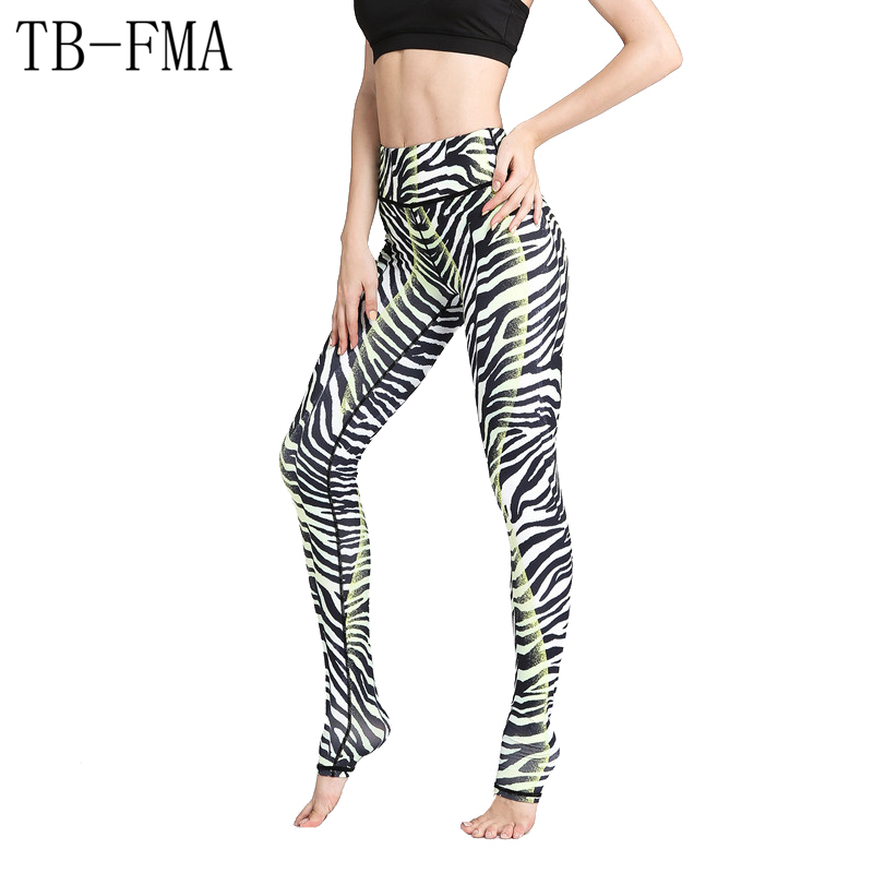 Sports Yoga Pants Super Quality Gym Pants Women High Waist Yoga Sport Leggings Floral font b