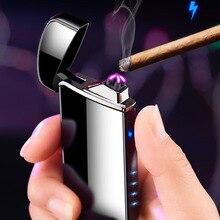6 цветов Новый arc USB зарядка Зажигалка для отправить другу подарок на день рождения