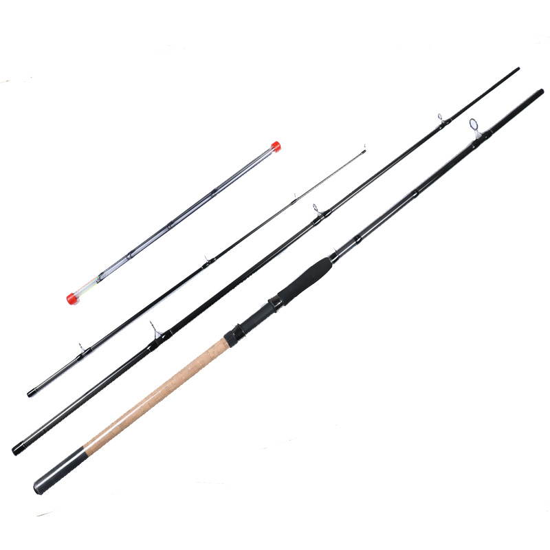11ft/12ft carbon fiber 4 section spinning feeder fishing pole аксессуар sp section pole 53110