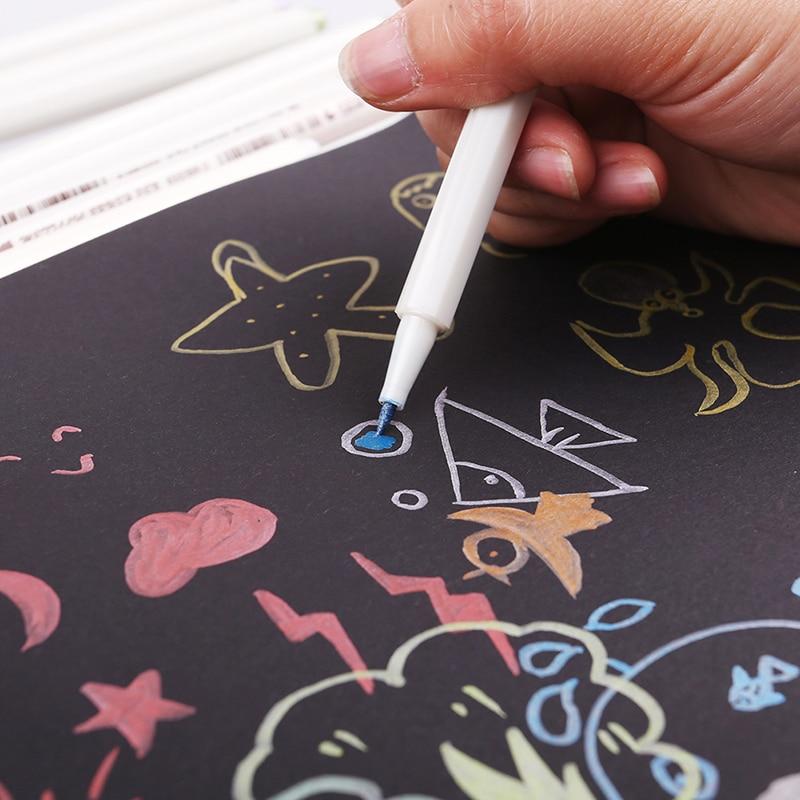 STA Metallic Markers - 10 Vibrant Colors 1