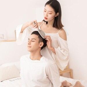Image 3 - Youpin Xinzhi מרגיע אלסטי עיסוי מסרק נייד שיער מברשת עיסוי מברשת קסם מברשות ראש קומבס