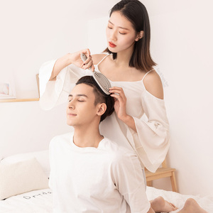Image 3 - Youpin xinzhi pente elástico de massagem, escova de cabelo portátil para relaxar, escova mágica para cabeça