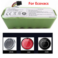 For Ecovacs CR120 Dibea Panda X500 X580 Kk8 Haier Sweeping Robot 14.4V 3500mAh NI MH Rechargeable Vacuum Cleaner Battery