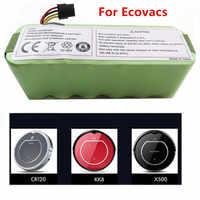 For Ecovacs CR120 Dibea Panda X500 X580 Kk8 Haier Sweeping Robot 14.4V 3500mAh NI-MH Rechargeable Vacuum Cleaner Battery