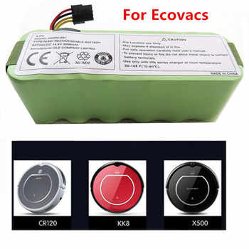 For Ecovacs CR120 Dibea Panda X500 X580 Kk8 Haier Sweeping Robot 14.4V 3500mAh NI-MH Rechargeable Vacuum Cleaner Battery - DISCOUNT ITEM  30% OFF Consumer Electronics