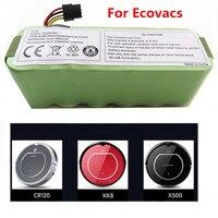For Ecovacs CR120 Dibea Panda X500 X580 Kk8 Haier Sweeping Robot 14.4V 3500mAh NI MH Rechargeable Vacuum Cleaner Battery