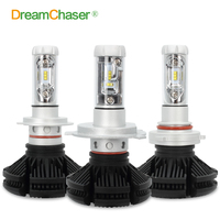 Dream Chaser Super Bright Car Headlights H7 LED HB3 9005 H8 H11 HB4 9006 H4 LED