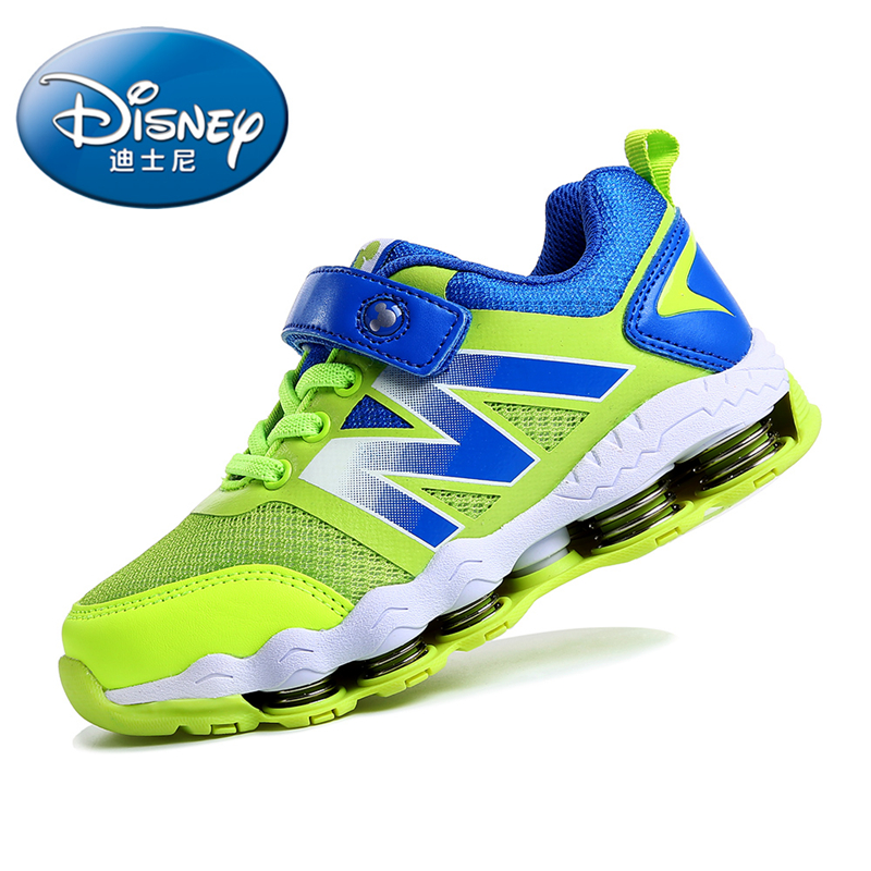 Disney 2 Colors Rubber Leisure Casual Kids Sneakers Children Shoes Boys Casual Mesh Breathable Outsole  Spring Shoes DS0976 dinoskulls new kids sport shoes children sneakers breathable leather boy running shoes 2018 girls leisure casual shoes