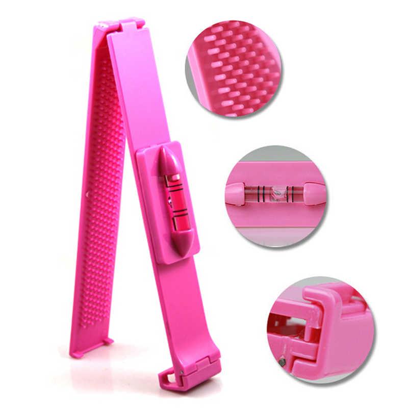 Модная челка стрижки волос заколка-Расческа накладная челка ножницы прическа ввода приспособление для выравнивания волшебный нож Бесплатная доставка wyq