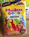 Plackers kids dental flosser child fluoride dental floss fruit flavor 48piece/pack