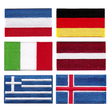 Welcome to custom-made National Flag Military Tactical Embroidery Patches Spain England America Italy France Badge