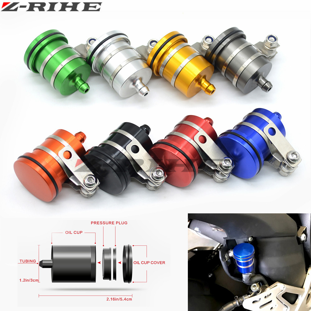 Universal Aluminum Alloy Motorcycle Front Brake Clutch Cylinder Fluid Oil Tank Cup for Suzuki GSX R 600 750 1000 GSF 600 Bandit