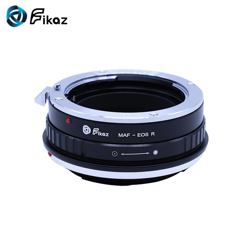 Fikaz pour Minolta (AF)-bague d'adaptation pour monture d'objectif EOS R pour objectif Minolta AF vers caméra de montage Canon EOS R