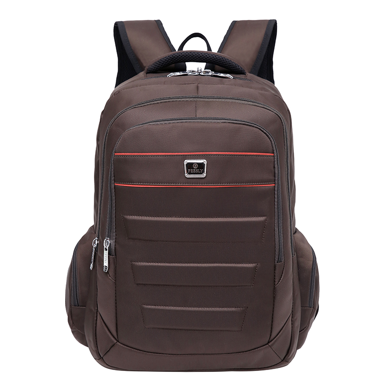 2018 Feesly Brand Laptop Bag Backpack Men Large Capacity Waterproof Oxford Compact Men's Backpacks Trolley Case Unisex Backpack compact fashion waterproof men backpack