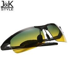 New Anti-Glare Polarized Day & Night Vision Driving Sunglasses points men shades Eye glasses esporte gafas oculos culos de sol