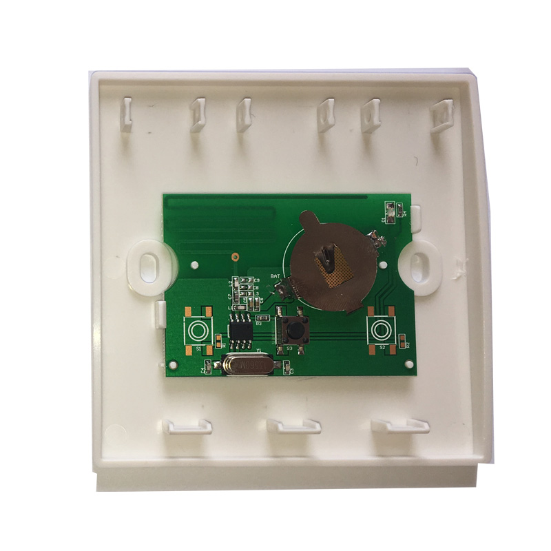 Wall Panel Wireless Remote Control DC 12V 1CH 433Mhz Relay Receiver 1 button For Bedroom Ceiling Light Lamp Bulb Wall Switch