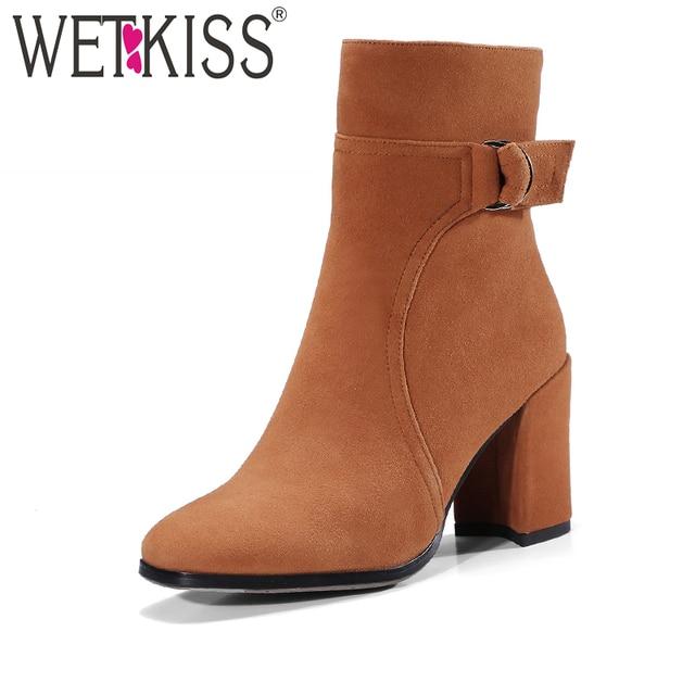 Mature natural boots