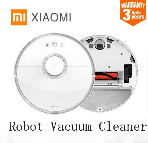 XIAOMI 2nd génération robot Roborock s50 s51 S55 robot aspirateur balai humide et sec Smart prévu avec réservoir d'eau APP
